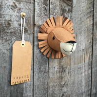 Wall mounted Lion head