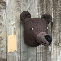 Wall mounted Bear head