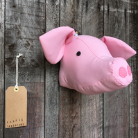 Wall mounted Pig head
