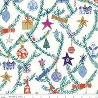 Liberty Fabric Seasons Greetings Collection - Christmas Tree Ornaments