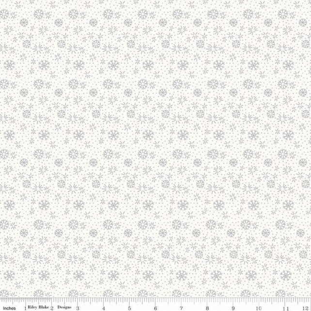 Liberty Fabric Seasons Greetings Collection - Snowflakes