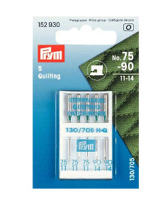 Prym Sewing Machine Quilting Needle Size 75-90
