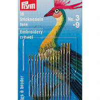 Prym Hand Embroidery Crewel with Gold Eye