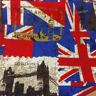 ENGLAND Cotton Canvas