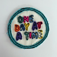 One Day At A Time, Iron on Patch, InTheSnug collab
