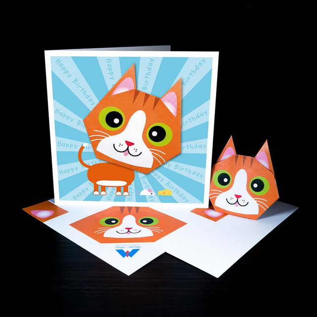 How to make 🐈 Cat 🐈 face with paper#Simple Art and craft#Simple ... | 642x642