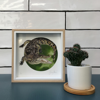 Croc is a limited edition print, perfect for a bathroom