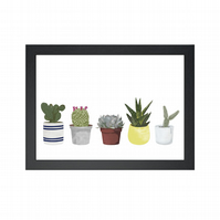 Greenery Limited Edition Print - House Plants - Living Room Decor