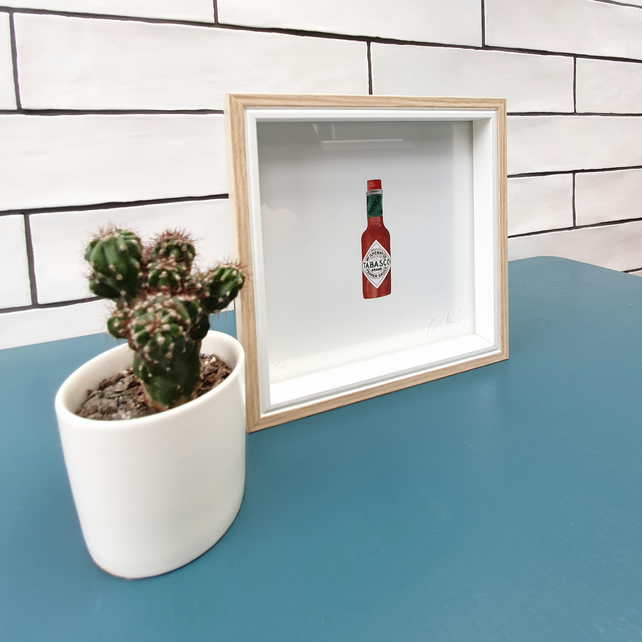 Tabasco - Hot Sauce - Food Collection - Limited Edition Print