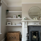 Alcove Shelves 300 mm deep up to 2400 mm wide Made to measure