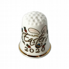 Happy Easter 2020 Personalised China Thimble