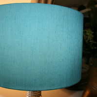 Cylinder lampshade 40 cm diameter in a choice of 40 fabric colours.