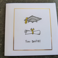 gradution card