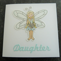 daughter fairy card