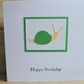 snail birthday card