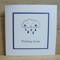 Thinking of you raincloud card