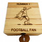 Football design Decorated Wooden Box