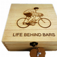 Cycling design Decorated Wooden Box