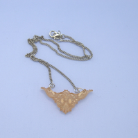 Dainty filigree necklaces
