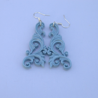 dangling filigree earrings