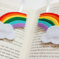 Rainbow bookmark