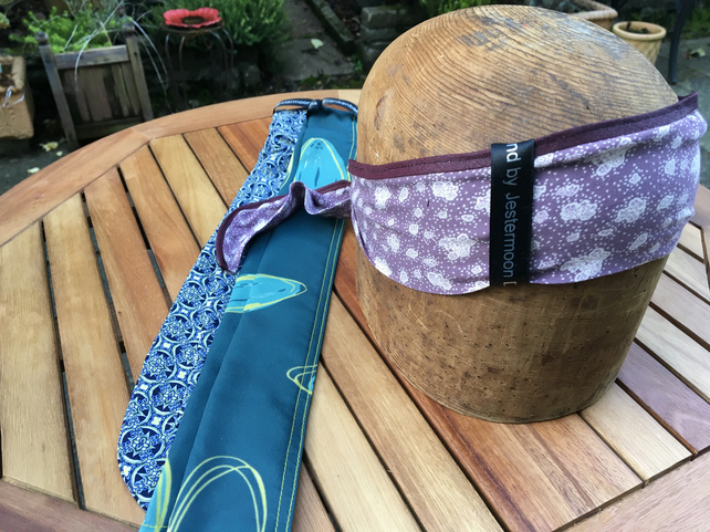 Frankenbands hairband - lilac and purple floral