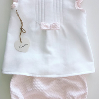 Baby girl dress and pants in 12 months