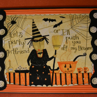 Halloween Card - Invitation