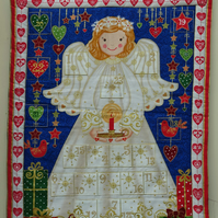 Advent Calendar. Quilted Angel Design Advent Calendar
