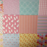 "Dovecraft 'Blooming Lovely' 8"" x 8"" FSC Papers !2 SHEETS"