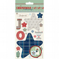 Papermania 'Christmas in the Country' 'Joy' Mini Decoupage Medley 2 Pack