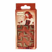 Santoro 'Willow' Metal Charms - Picture Corners
