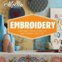 'Mollie Makes Embroidery' Hardback Book