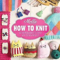 'Mollie Makes How To Knit' Hardback Book