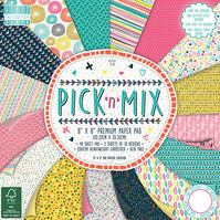 "First Edition 'Pick 'n' Mix' 8"" x 8"" Premium Paper Pad FULL PAD"