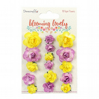 Dovecraft 'Blooming Lovely' Paper Flowers