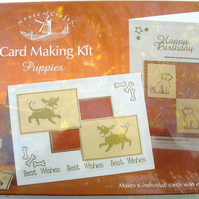 House of Crafts 'Puppies' Card Making Kit