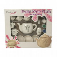 Dovecraft Junior 'Paint Your Own' Porcelain Tea Set