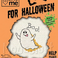 Mouseloft Stitchlets 'Make Me For Halloween - Ghost' Cross Stitch Kit