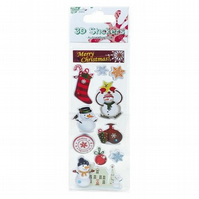 Dovecraft Junior 3D Christmas Stickers