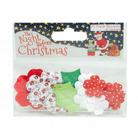 'The Night Before Christmas by Helz Cuppleditch' Paper Blossoms and Leaves