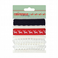 Papermania 'Christmas in the Country' Christmas Trims