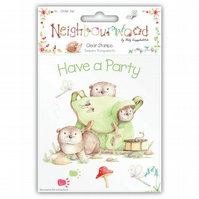 Helz Cuppleditch 'Neighbourwood - Otter Fun' Clear Stamps Set
