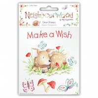 Helz Cuppleditch 'Neighbourwood - Little Fawn' Clear Stamps Set