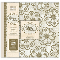 "First Edition 'Gilded Winter' 12"" x 12"" Refillable Memory Scrapbook Album"