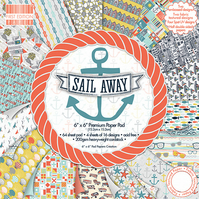"First Edition 'Sail Away' 6"" x 6"" Premium Paper Pad FULL PAD"