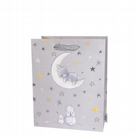 Babies & Children's Bunnies By The Bay In The Stars Medium Luxury Foil Gift Bag
