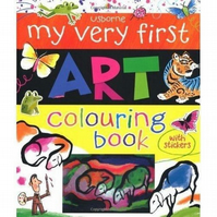 'My Very First Art Colouring Book' by Rosie Dickens (Paperback)