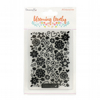 Dovecraft 'Blooming Lovely' A6 Embossing Folder