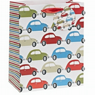 Small 'Cars' Luxury Foil Gift Bag